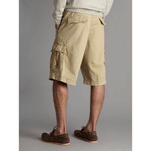 Denim & supply Khaki cargo shorts